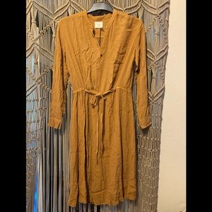 Anthropologie Tina + Jo Midi Dress S NWT